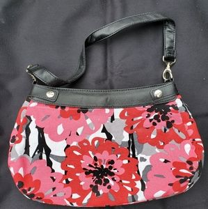 Suite Sucess Purse bold bloom print